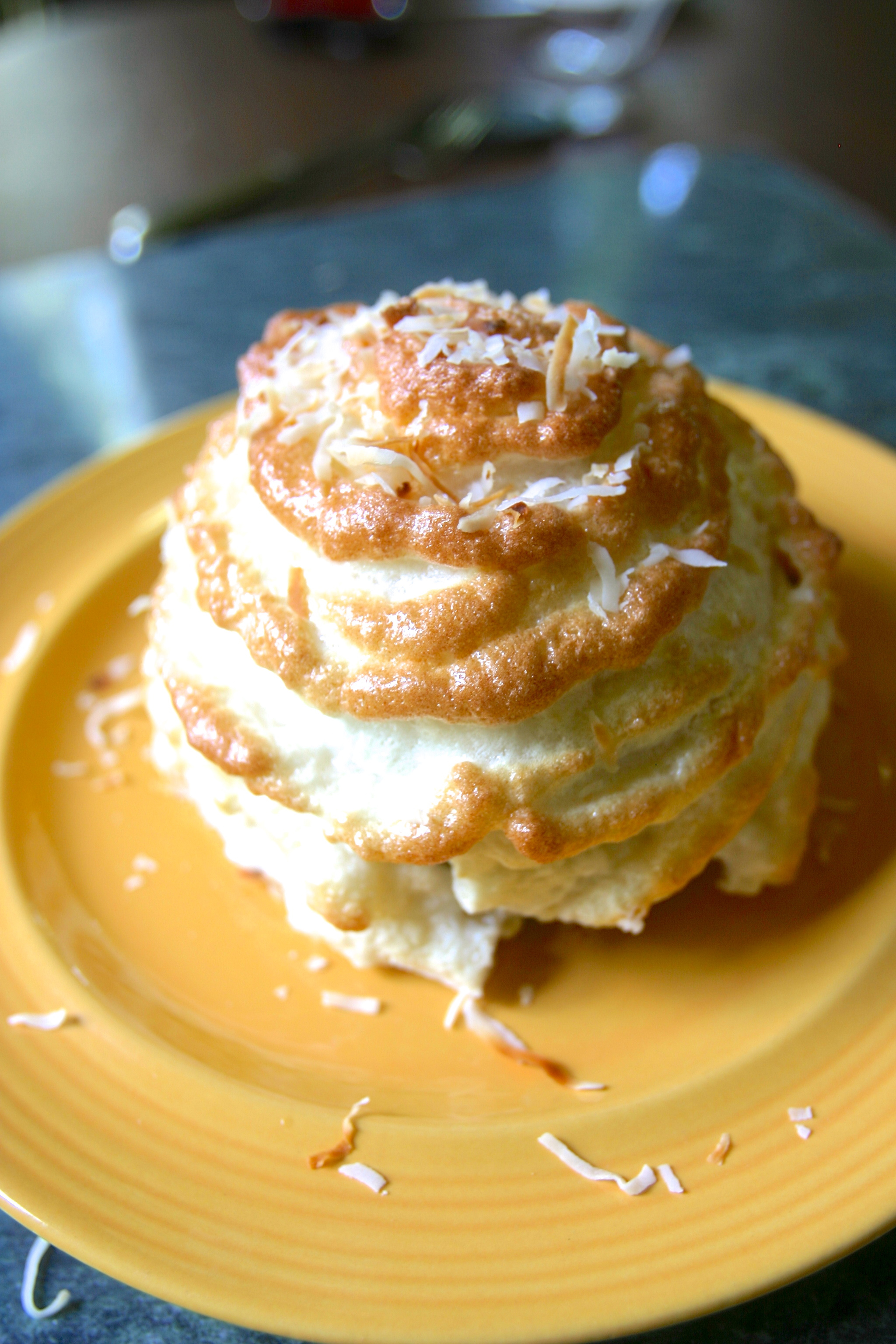 paleo banoffee baked alaska pancakes